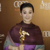 Asian stars lend their support to quake relief at film awards