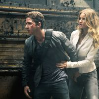 Multiplex misogyny: Sam Witwicky (Shia LaBeouf) gets a new piece of arm candy (Rosie Huntington-Whiteley) in Michael Bay's utterly hollow 'Transformers: Dark of the Moon.' Robert Zuckerman | © 2011 PARAMOUNT PICTURES. All Rights Reserved. HASBRO, TRANSFORMERS and all related characters are trademarks of Hasbro. ©2011 Hasbro. All Rights Reserved