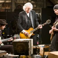 Ax men Jack White, Jimmy Page and The Edge jam on it. | ©2009 Steel Curtain Pictures, LCC, All Rights Reserved