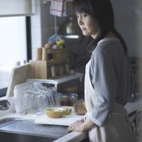 Time bomb: Kaho Minami plays a frustrated housewife on the brink in 'Kazoku X (Household X)'.   © PFF Partners