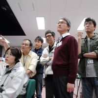 Space is the place: Staff at the Japan Aerospace Exploration Agency in 'Hayabusa,' a dramatization of a real-life space research mission. | © 2011 'HAYABUSA' Film Partners