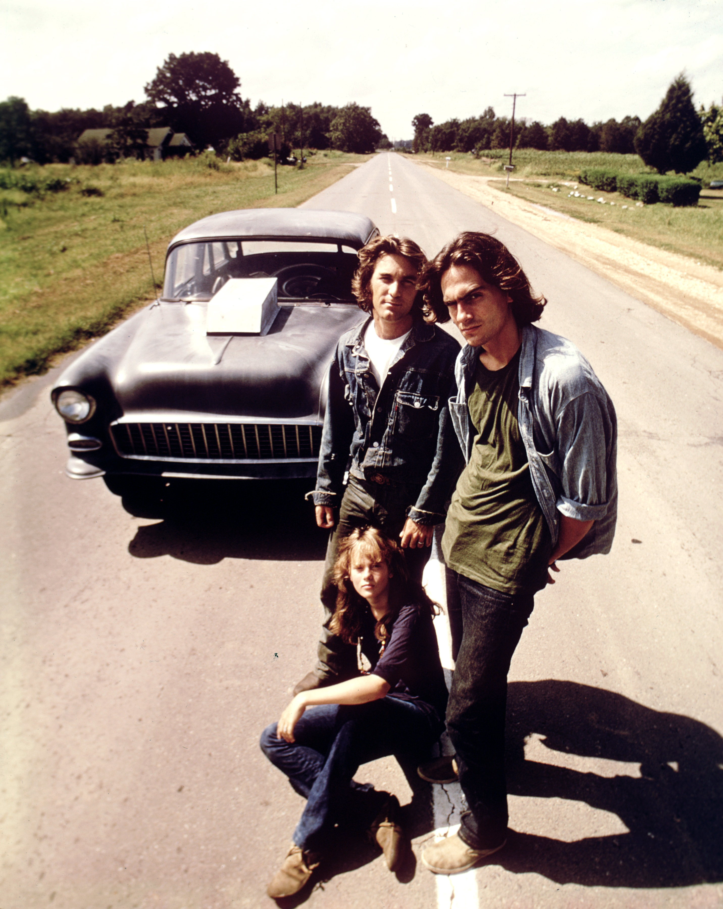 Roll out: Monte Hellman's 1971 classic, 'Two-Lane Blacktop.' | © 1971 Universal Pictures and Michael Laughlin Enterprises Inc. All Rights Reserved.