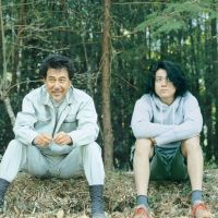 Branching out: A lumberjack (Koji Yakusho, left) and a B-movie director (Shun Oguri) strike up an unlikely friendship in 'Kitsutsuki to Ame.' | © 2011 'Kitsutsuki to Ame' Film Partners