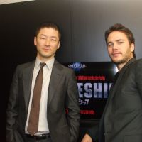 Hollywood calling: Actor Tadanobu Asano (left) says he was surprised when Taylor Kitsch (right) inserted a pause into their dialogue, a technique he thought was particular to Japanese cinema. | KAORI SHOJI