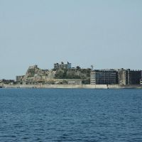 Secret base:  The island of Hashima, off the coast of Nagasaki, was the inspiration for Raoul Silva's hideout in the latest 007 movie, 'Skyfall.' | KYODO