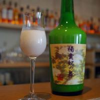 Claska's house drink: Youkihi no Mai nigorizake from Gifu