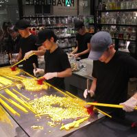 Candy made fresh at Tokyo stores