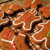 For the sweet tooth: Plenty of the holiday desserts can be vegetarian, including tiramisu and gingerbread men. | FLICKR/ MARTIN BARTOSCH; VEGANBAKING.NET