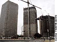 The Hashimoto building project in Kanagawa is one of the area's largest redevelopment projects.