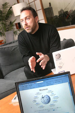 Jimmy Wales: Power to the Wikipeople