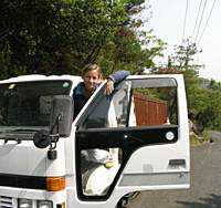 Dumptrucks are great for carrying vocabulary. | PAUL HOOGLAND PHOTO