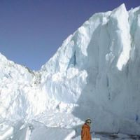 Kazuyo Sakanoi contemplates the frozen wonder of Antarctica during her 16-month posting there.