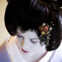 Role model: After living half her life in Japan, Australian social anthroplogist and filmmaker Fiona Graham had experience to draw on when she chose to be a geisha.   KERRY RAFTIS PHOTO