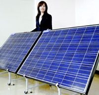 Why is Japan lagging in solar-energy field?