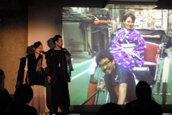 Designers, artists take stage for direct route to the people