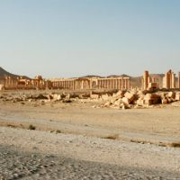Past glory: Palmyra in Syria, which thrived from 100 B.C. until the third century A.D.   EDAN CORKILL PHOTOS