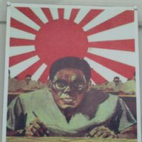 Hate figure: A wartime U.S. poster at the Jianchuan Museum Cluster outside Chengdu, where five of the 13 halls cover Japan's wartime depredations.
