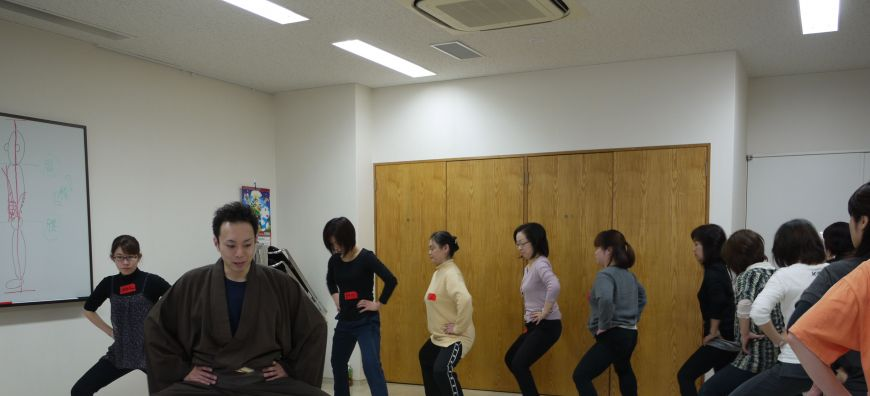 Kabuki workout helps students to stand out in a crowd
