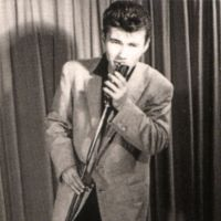 Star of stage and screen: A shot  of Mickey Curtis in his early rockabilly-idol days