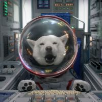 Space rover: 'In space there is hope,' says Otosan before blasting off in this two-minute ad made for last Christmas.