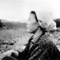 Host mother: The woman in a remote village whom Downer describes staying with in her 1989 book, 'On the Narrow Road to the Deep North.' | COURTESY LESLEY DOWNER