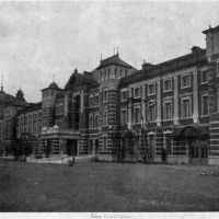 Hub of the nation: Tokyo Station shortly after it opened, in 1914.