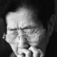 Picture of despair: A portrait of a former Korean sex slave, taken by photographer Ahn Sehong and shown at his exhibition at the Shinjuku Nikon Salon in Tokyo. | AHN SEHONG