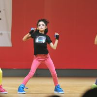 Starting young: At Tokyo's Kameido branch of the Renaissance fitness-club chain, children from a wide age range practice hip-hop dance steps and moves in a tuition program developed by the music and entertainment company, Avex. | ERIKO ARITA
