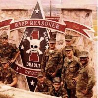 Glory days: U.S. Marines outside the main gate to Camp Reasoner in Da Nang, Vietnam in 1971.  Courtesy of Don Gordon Bell.