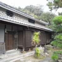 A house on Shiraishi Island where Ino Tadataka is said to have stayed when he visited the island in the early 1800s. | SUNAO AMANO