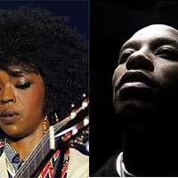 Ms. Lauryn Hill (left) and Lupe Fiasco | AP PHOTO (left)