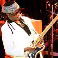 Nile Rodgers playing live