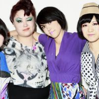 Big out of Japan: The Suzan (from left: Rie Suzuki, Sachie 'Nico' Sone, Saori Suzuki and Ikue Yoshida) and Comanechi (below, Simon Petrovitch and Akiko Matsuura) agree that Japanese fans are more likely to support a band if they've already become established abroad.
