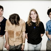 Great expectations: The Vaccines (from left) are Pete Robertson, Justin Young, Arni Arnason and Freddie Cowan. The band had to cancel an earlier trip to Japan due to singer Young's health problems, but will play this year's Fuji Rock Festival.