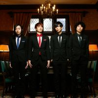 Dressed to thrill: The Bawdies (from left: Yoshihiko 'Jim' Kimura, Ryo 'Roy' Watanabe, Masahiko 'Marcy' Yamaguchi and Taku 'Taxman' Funayama) are getting ready to embark on a nationwide tour that will culminate with a performance at the prestigious Nippon Budokan in Tokyo.