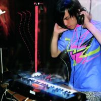 Cosmic guy: Seiho Hayakawa performs at a recent Innit party in Osaka. The artist launched his own label to release his debut album, 'Mercury.'