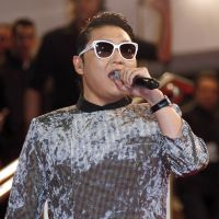 Waking up to 'Gangnam Style': South Korean singer Psy performs at the NRJ Music Awards in Cannes, France, on Jan. 26. | AFP-JIJI