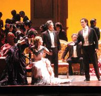 Night at the opera: A cast peppered with world-famous singers led by renowned Japanese conductor Toshiyuki Kamioka will perform Guiseppe Verdi's 'La Traviata' at the New National Theatre Tokyo. | CHIKASHI SAEGUSA/NEW NATIONAL THEATRE
