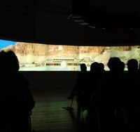 Wide-screen: A 10-meter-wide panoramic display reveals some of Egypt's most advanced cultural technology at CULTURAMA from Oct. 16-24.