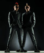Speechless: Comedy duo Gamarjobat will be touring Japan till April.