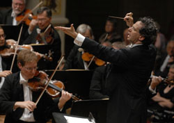 Celebrated: Maestro Fabio Luisi and the Staatskapelle Dresden orchestra will perform in Japan between April 25 and May 1.
