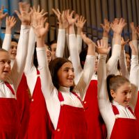 Let's hear it for the girls: This month The Armenian Little Singers take part in their first tour of Japan.