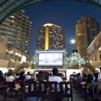 Starring role: Grab a seat early and watch a movie outside at The Starlight Cinema.