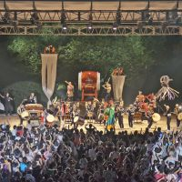 Drum circles: Kodo performs at last year's Earth Celebration. | PHOTO COURTESY OF KODO