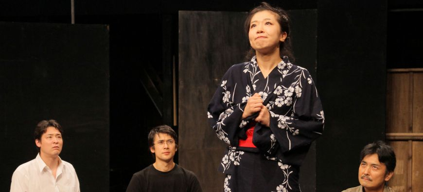 Play challenges woman's role by examining the life of poet Kanoko Okamoto