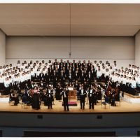 Helping Handel: An orchestra performs at last year's Japan International Volunteer Center Concert in Tokyo.
