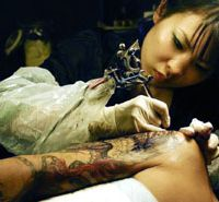 Tattoos come out of hiding