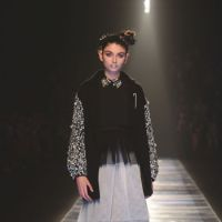 Mode gals: A model takes to the Touch Me runway in a MURUA outfit