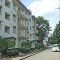 Breezy living: The north side of a danchi apartment complex in northern Chiba that was built in the mid-1980s, allows for clearer views. | PHIL BRASOR