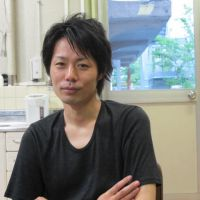 Bringing about change: Junnosuke Tada, the youngest-ever artistic director of a public theater in Japan, says young dramatists need to establish a liaison between local and city theaters and pass on the fruits of that relationship to the next generation. | NOBUKO TANAKA PHOTO